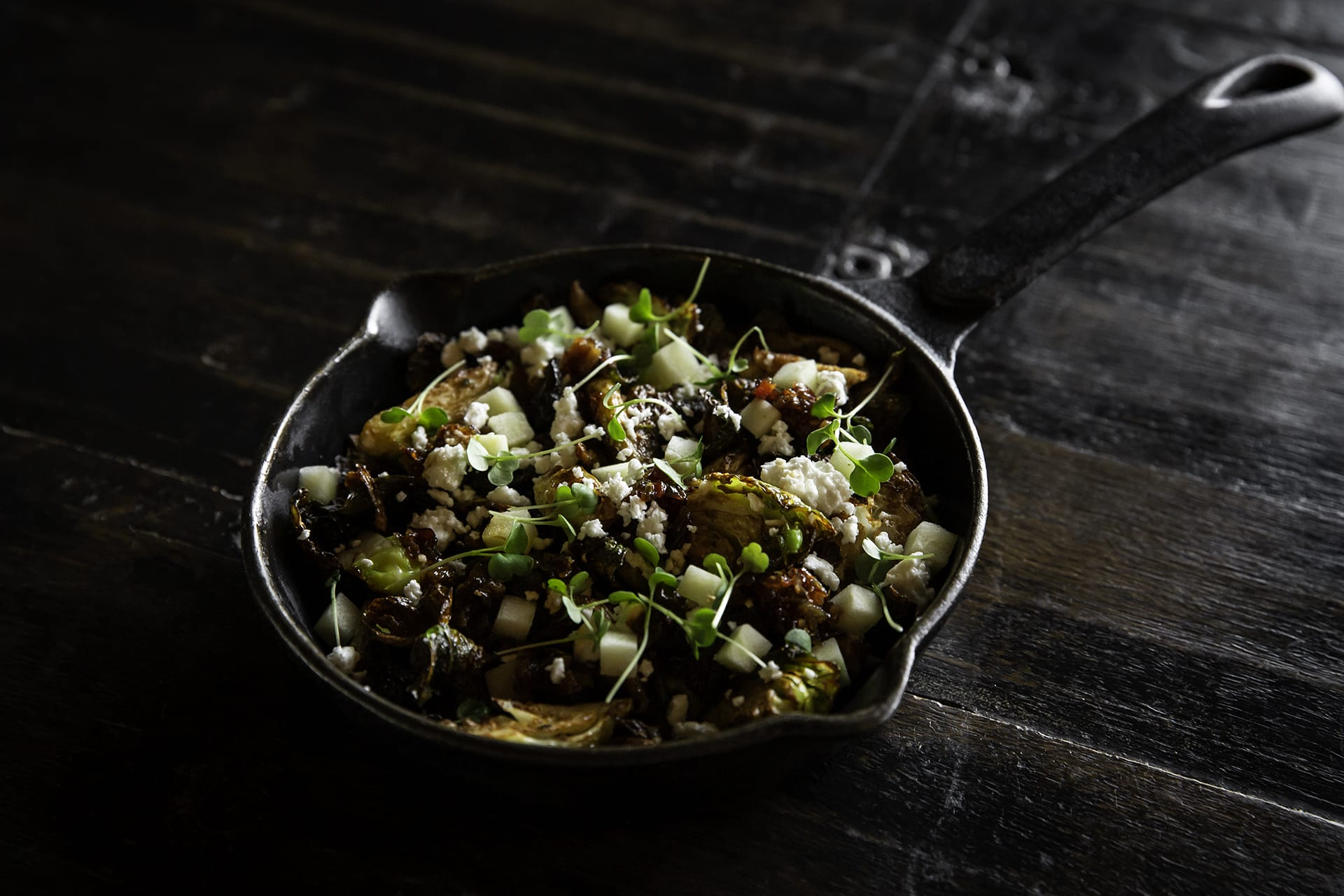 Kline's brussel sprouts salad